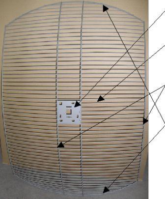 Параболический сетчатый рефлектор своими руками5